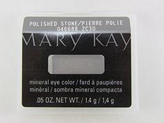 Mary Kay Mineral Eye Color - Stone. This long-lasting, fade-resistant, mineral-based formula delivers weightless, high-impact color in one swipe with a natural, luminous finish that looks gorgeous on any skin tone. Glides on easily and applies smoothly and evenly. Contains vitamins A, C and E to help protect against wrinkle-causing free radicals. Oil-absorbing properties. Crease-resistant. Colors were selected by a professional makeup artist for wearable, everyday looks. Excellent…