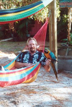 Hanging in the hammock is for the birds! (2000) | Florida Memory