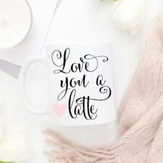 Love you a latte! New mugs have hit our shop. Shop them through the link in our profile.