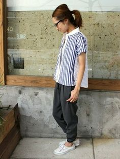 haru│Spick & Spanのシャツ・ブラウスコーディネート