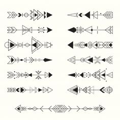 Discover thousands of Premium vectors available in AI and EPS formats Geometric Tribal Tattoo, Simple Tribal Tattoos, Tribal Tattoos For Women, Tribal Arrows, Tribal Tattoo Designs, Tribal Tattoos Native American, African Tribal Tattoos, Simbolos Tattoo, Meaning Of Arrow Tattoo
