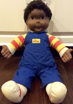 1989 My Buddy African American Doll by Playskool,  My Buddy, My Buddy Doll, Playskool Doll, Vintage Playskool My Buddy Doll, 1980's Toys by Lalecreations on Etsy