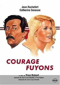 """Courage Fuyons"" - Yves Robert (1979) Jean Rochefort (29 avril 1930 - 9 octobre 2017)"