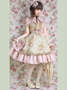 Dress #1     36200 JPY = $352  Very cute and well made but... it's not for girls it's for young Japanese women...