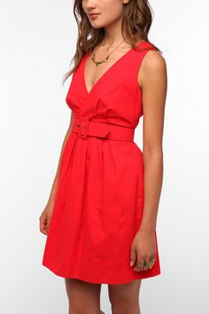 BB Dakota Surplice Mary Dress