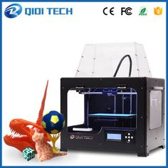 2017 Newest High Quality QIDI TECH I Dual extruder Printer with upgraded version motherboard free ABS PLA filaments 3d Printer Software, Desktop 3d Printer, 3d Printer Supplies, Metal 3d Printer, Best 3d Printer, Multifunction Printer, Stepper Motor, Sd Card, 3d Printing
