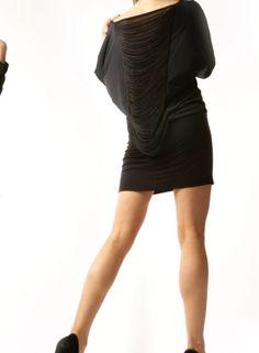 2012-T2- Black with Black Fringe (back)- Madison