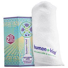 HUMAN+KIND Deep Cleansing Cloths   Čistiace uteráčiky   Marionnaud