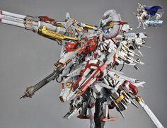 GUNDAM GUY: 1/100 PROJ-0033 Tiefsturmer [Deep Striker] - Painted Build