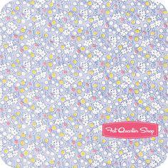 Storybook Classics Blue Bubblegum Flower Yardage SKU# 36077-3 - Fat Quarter Shop