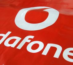 Vodafone | Patch Handle Carrier Bags