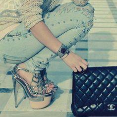 street fashion #accessories #heels www.loveitsomuch.com