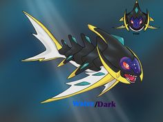 Fakemon, alola legendary. Based on hawaii shark god.
