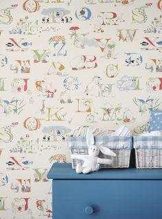 Papeles pintados para habitaciones infantiles