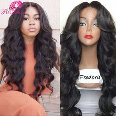 Lace Front Wig Body Wave Glueless Full Lace Human Hair Wigs For Black Women Unprocessed 7A Peruvian Human Hair Natural Lace Wig