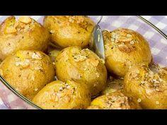 Acum iubesc și mai mult cartofii copți!O rețetă portugheză extrem de delicioasă și simplă| SavurosTV - YouTube Pretzel Bites, Quick Easy Meals, Breakfast Recipes, Appetizers, Bread, Vegetables, Cooking, Food, One Pot Dinners