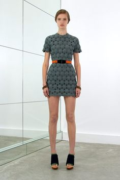 Balenciaga Resort 2010 Fashion Show - Katie Fogarty