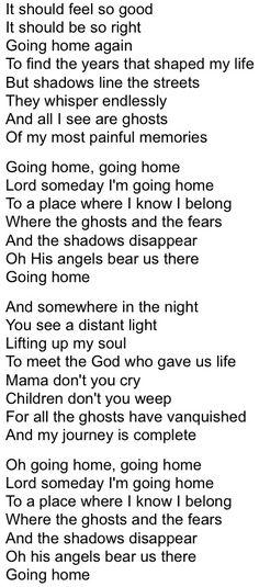 Going Home - David Meece