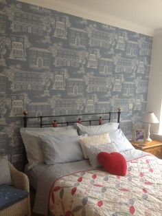 Little Greene Paint Company, Paint Companies, Tapestry, Bed, Painting, Furniture, Home Decor, Hanging Tapestry, Tapestries