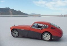 1956 Austin Healey 100 GT Coupe Toyota Hot Rod For Sale Rear