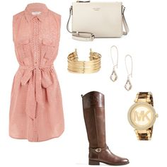 Untitled #887 by joleen2310 on Polyvore featuring polyvore fashion style Equipment Tory Burch Kate Spade Michael Kors Kendra Scott H&M