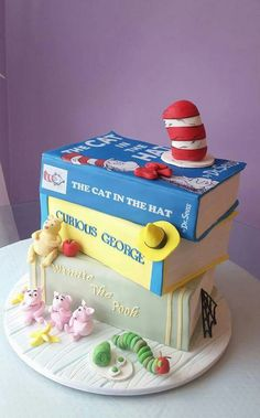 Kids books by Cakery Creation in Ormond Beach. Winner of Cake Wars on Food Network
