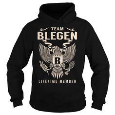 Team BLEGEN Lifetime Member - Last Name, Surname T-Shirt