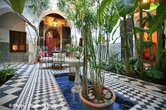 Patio - Riad Dar Mouassine Marrakech