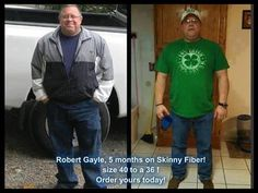 Robert looks fantastic!! Get yours here: http://www.mrsmcgraw.eatlesswithskinnyfiber.com Skinny Fiber works for Men Too <3