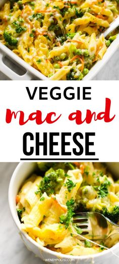 I really want to try new gluten-free casserole recipes and this Veggie Mac and Cheese looks so good! I can't wait to cook this easy meal for my family.  It looks like the perfect healthier comfort food.  SO PINNING! #wendypolisi #glutenfree #glutenfreerecipes #healthyrecipes #macandcheese