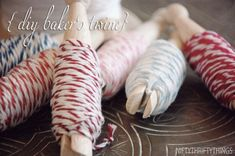 {DIY baker's twine} on http://www.niftythriftythings.com