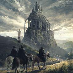 Eyrie. Game of Thrones by Lensar.deviantart.com on @deviantART