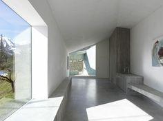 Roduit Studio by Savioz Fabrizzi Architectes - I Like Architecture Contemporary Architecture, Interior Architecture, Interior Design, Bergen, Ultra Modern Homes, Aesthetic Space, Rural House, Small Studio, Home Studio