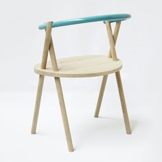 Stuck Chair by Dutch designers Oato