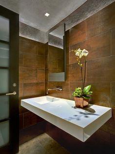 #Flores en el #baño