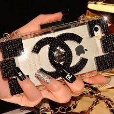 Cc case #luxury#chanel#iphoe5