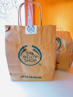The Body Shop: Unboxing