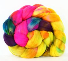 Techno 4 oz Targhee Roving Wool by atomicblue on Etsy