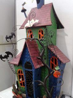 halloween casa embrujada decorativa con velas envio gratis