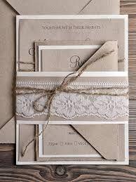 rustic style wedding invitations - Google Search