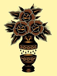 Flower Vase on Behance
