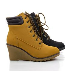 08a711041bf8 Godiva01 Wedge Ankle Cuff Work Lace Up Booties.  women  shoes for  32.50
