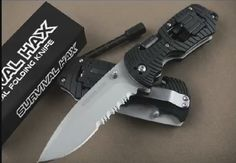 Survival Folding Knife - EDC - Multitool  https://www.youtube.com/watch?v=ZTtMtucx20M