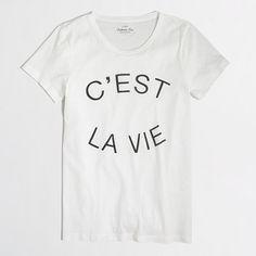 c'est la vie collector tee