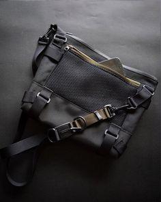 Shoulder Bag Messenger Bag Techwear EDC Bag Commuter bag | Etsy