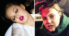 viraI: We've Found Women From Beauty Ads to See What They Look Like Without Makeup Lolita Lempicka, Lara Stone, Diane Kruger, Max Factor, Barbara Palvin, Cara Delevingne, Revlon, Abbey Lee Kershaw, Sasha Pivovarova