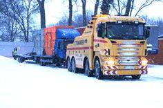 Towing truck Scania - Towing and recovery Szkwarek - Slubice Swiecko Poland - Towing, Transportation, Accident Manegment www.szkwarek.com