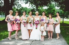 Beautiful Bride Party in Minneapolis, MN