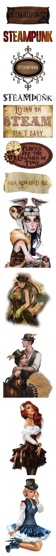 """Steampunk"" by craftygeminicreation on Polyvore featuring steampunk, words, backgrounds, text, filler, quotes, phrase, saying, headline and steam punk"