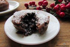 Tortino+al+cioccolato+fondente+con+cuore+morbido